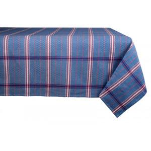 Nappe métis Félix Bleu en tissu basque