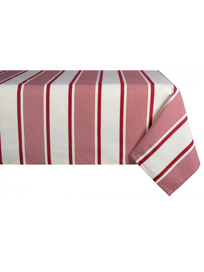 Nappe métis Maïté Rouge en tissu basque