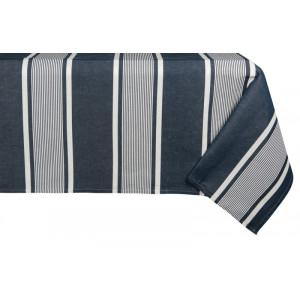 Cotton and Linen tablecloth Yvonne Denim tableware basque linen