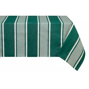 Nappe métis Yvonne Vert en tissu basque