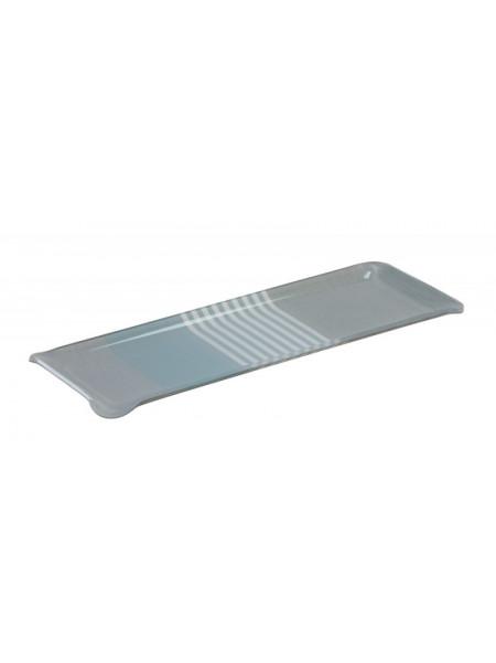 Acrylic tray Belle-île en Mer tableware basque linen