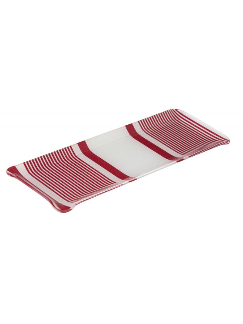 Acrylic tray Maïté Rouge- tableware basque linen