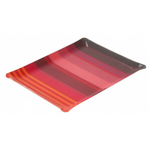 Acrylic tray Surfing tableware basque linen