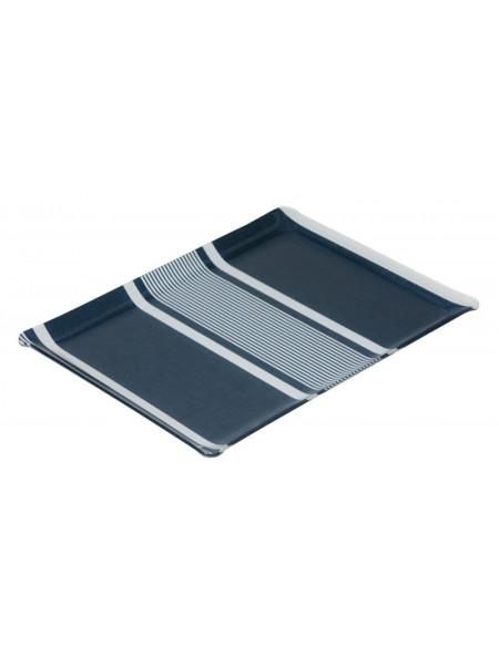 Acrylic tray Yvonne Denim tableware basque linen