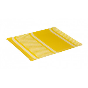 Acrylic tray Yvonne Jaune tableware basque linen