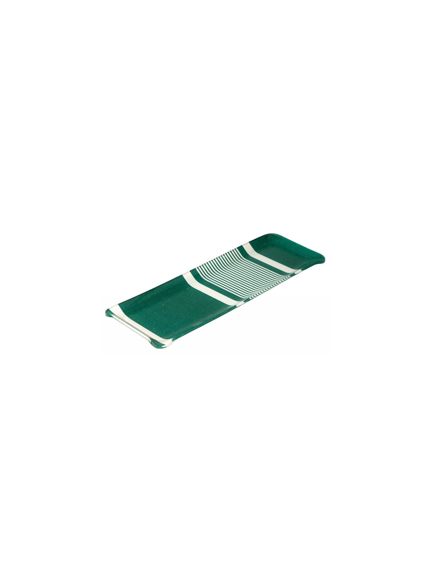 Acrylic tray Yvonne Vert tableware basque linen