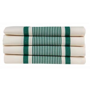 Serviette Maïté Vert linge de table basque