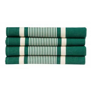Napkins Yvonne Vert tableware basque linen