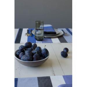 Set enduit Beaurivage linge de table basque