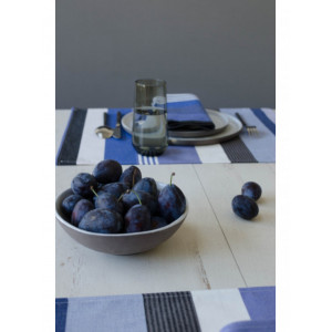 Coated placemats Beaurivage tableware basque linen
