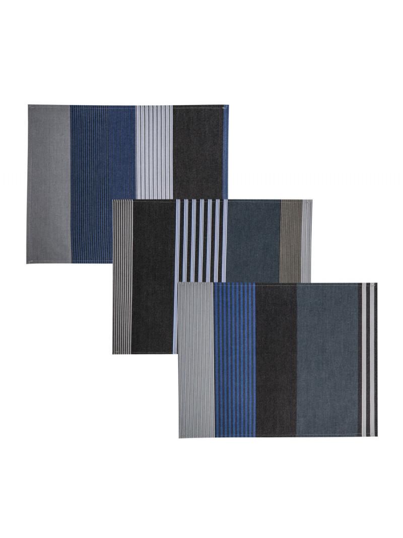 Coated placemats Miramar tableware basque linen