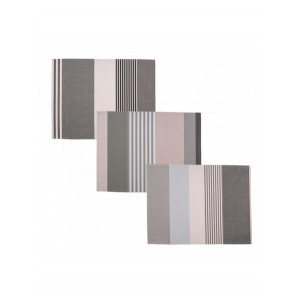 Coated placemats Rhune tableware basque linen