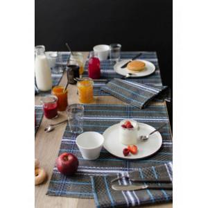 Set Félix Noir linge de table basque