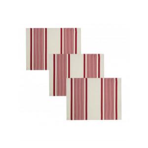 Placemats Maïté Rouge tableware basque linen