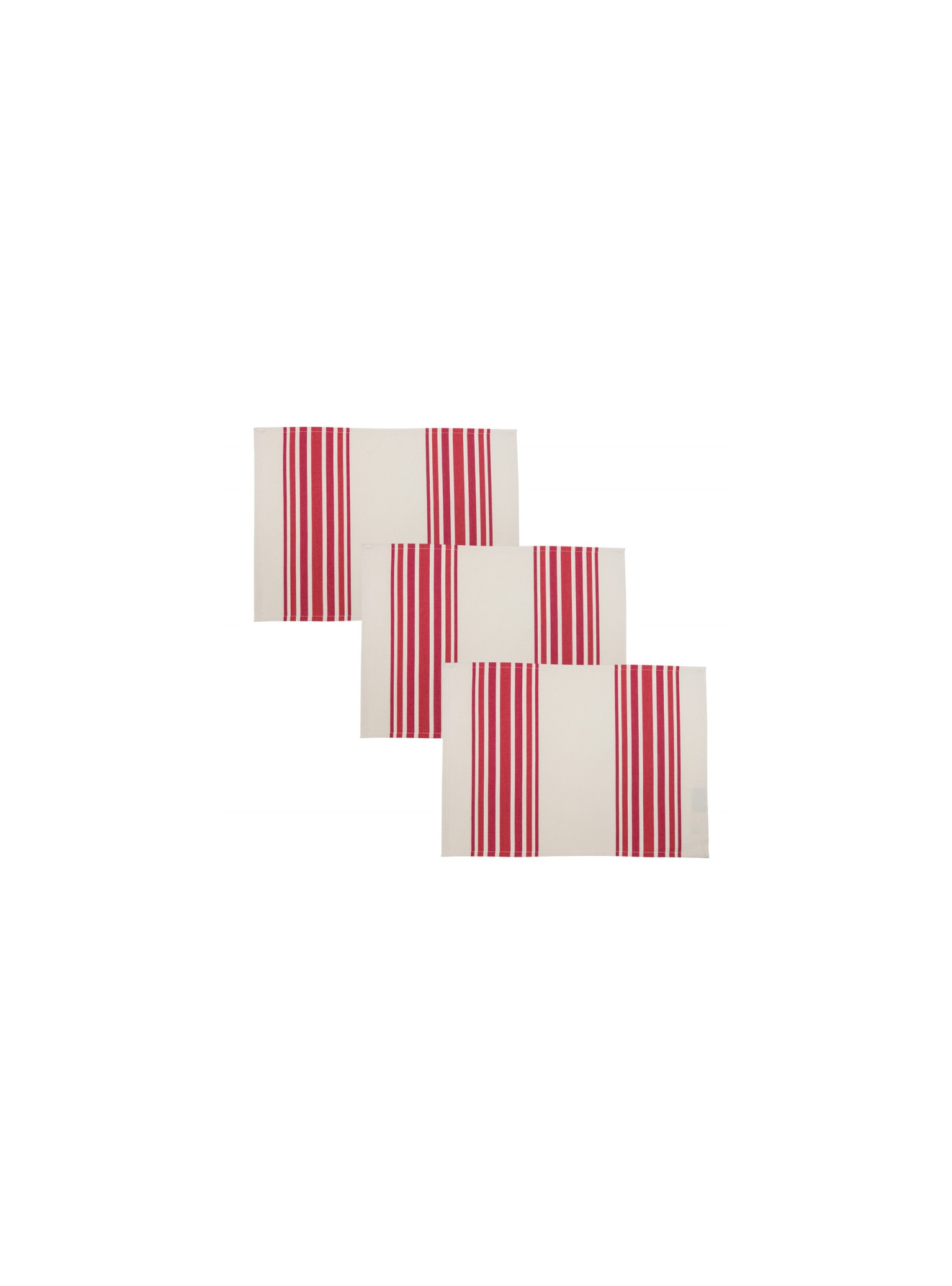 Placemats Tradition Pipera tableware basque linen