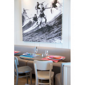 Placemats Surfing tableware basque linen
