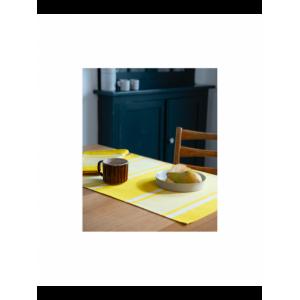 Placemats Yvonne Jaune tableware basque linen