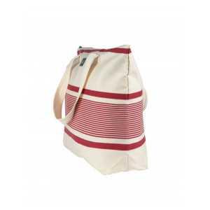 Juliette Maïté Rouge sac cabas en tissu basque