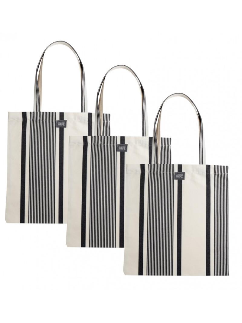 Marie Maïté Encre handbag, basque linen