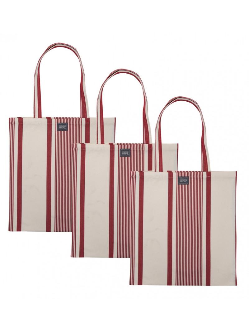 Marie Maïté Rouge handbag, basque linen