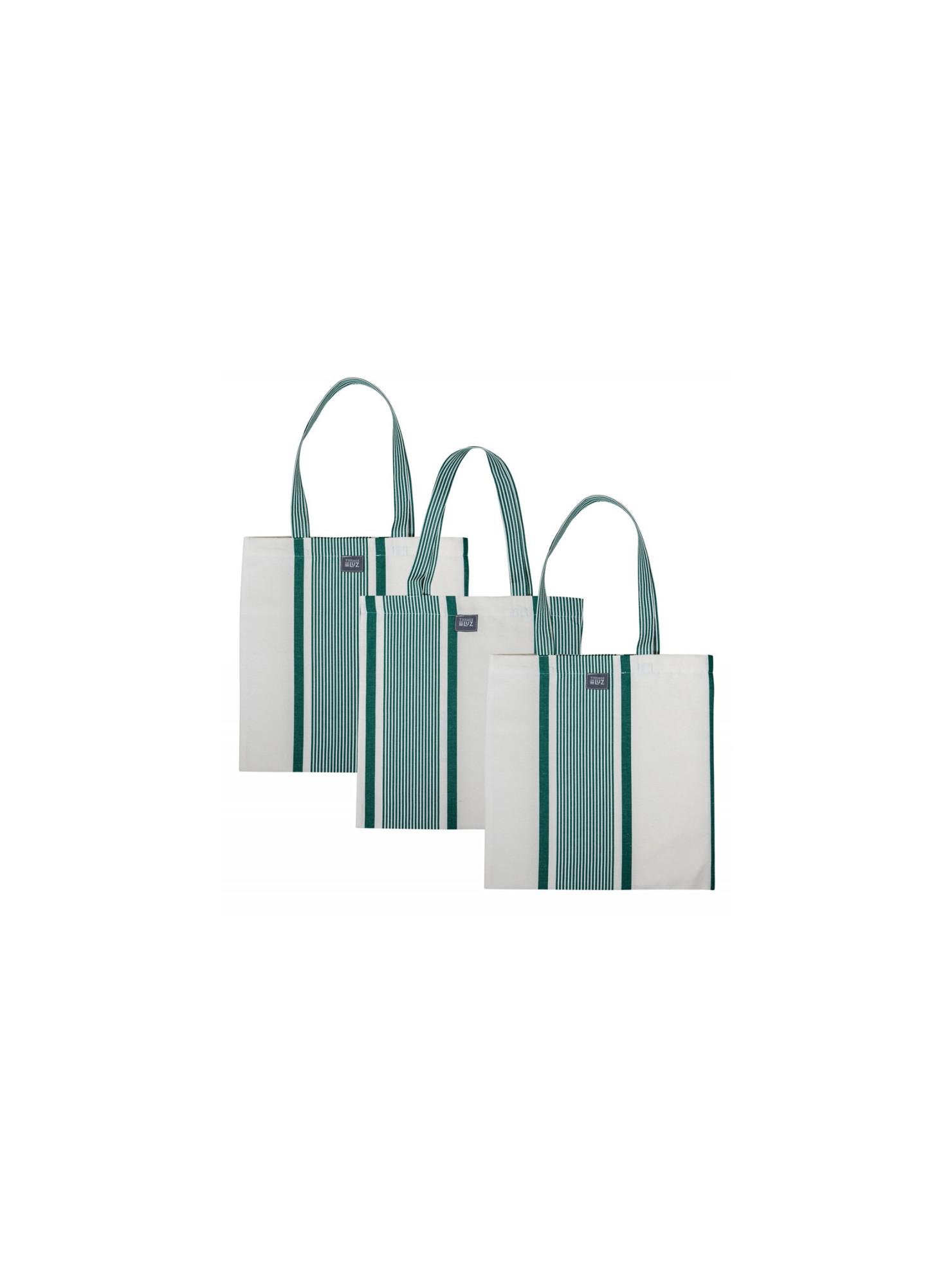 Marie Maïté Vert handbag, basque linen