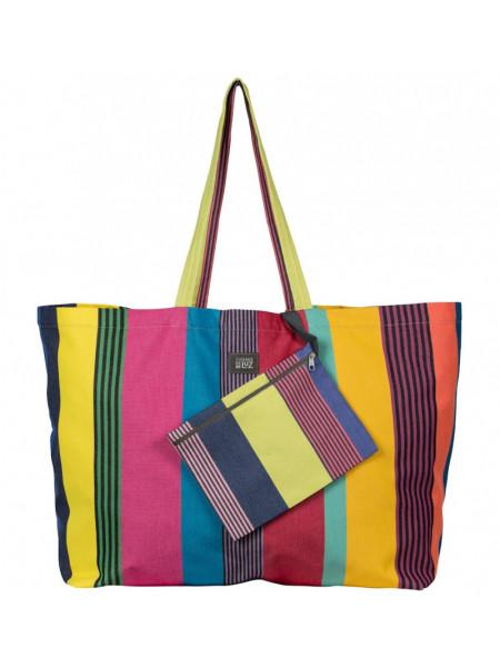 Playa bag Bélize- handbag, basque linen