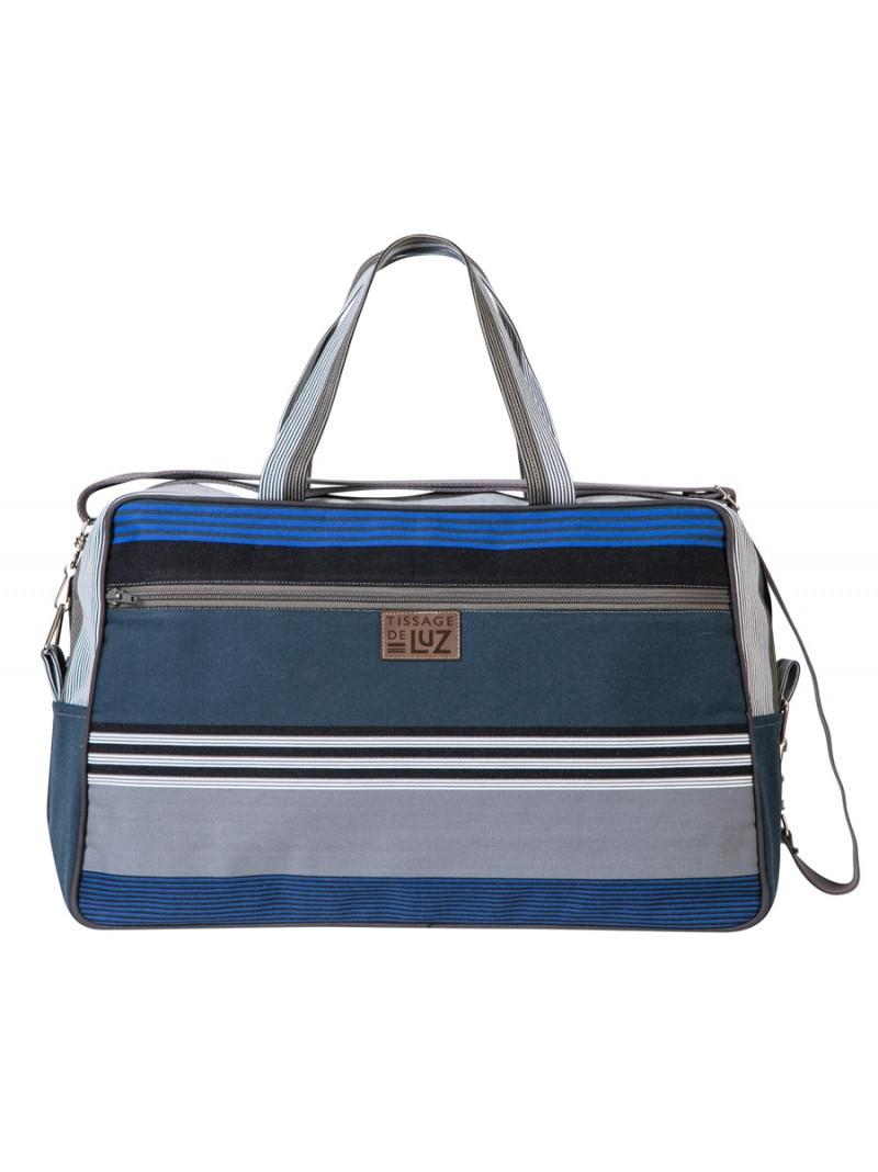 Weekend Bag Miramar travel bag, basque linen