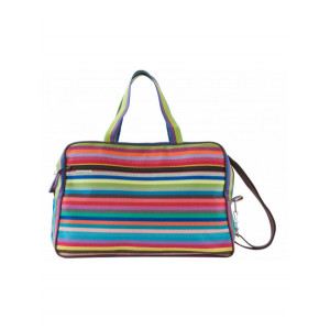 Weekend Bag Salvador travel bag, basque linen