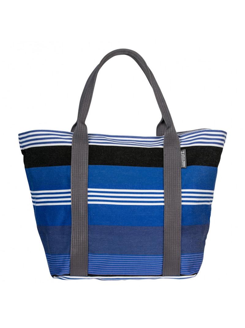 Cabas Beaurivage sac cabas en tissu basque