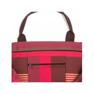 Cabas Cordoba sac cabas en tissu basque