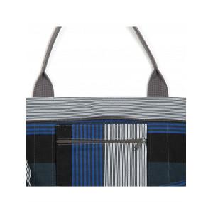 Cabas Miramar sac cabas en tissu basque