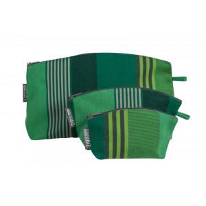Trousse Chiberta en tissu basque