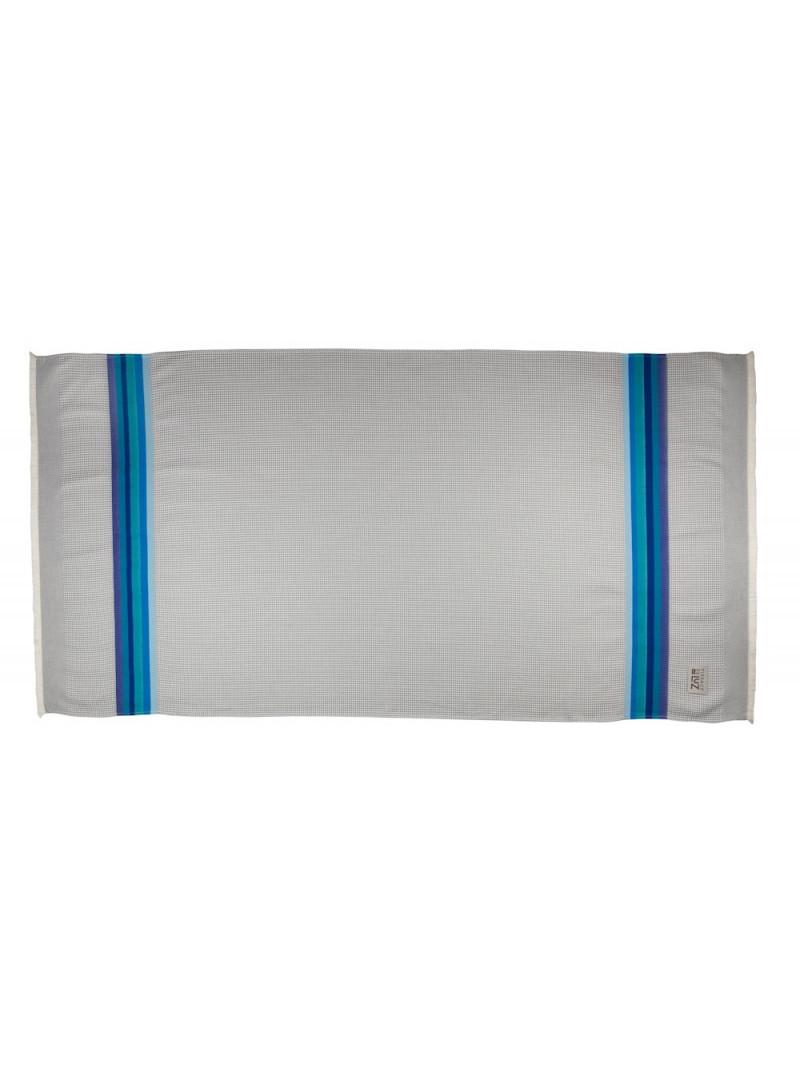Honeycomb bath towel Gris/Ciel bathroom basque linen