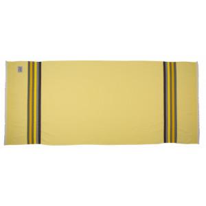 Honeycomb bath towel Citron bathroom basque linen