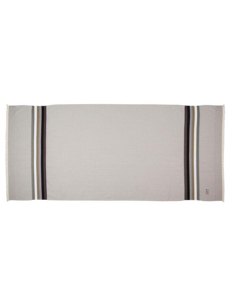 Honeycomb bath towel Gris/Perle bathroom basque linen