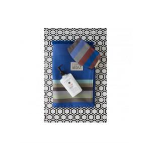 Honeycomb bath towel Tempête- bathroom basque linen