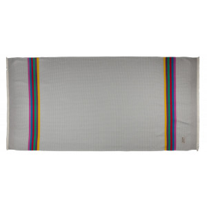 Honeycomb bath towel Gris/Toucan bathroom basque linen