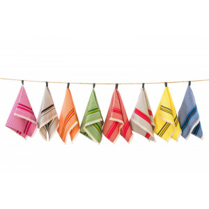 Guest towel Gris/Rose bathroom basque linen