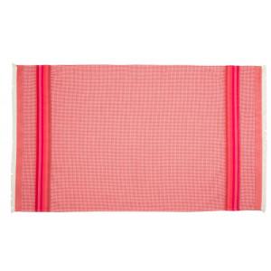 Honeycomb towel Cerise bathroom basque linen