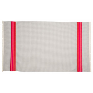 Honeycomb towel Gris/Rose bathroom basque linen