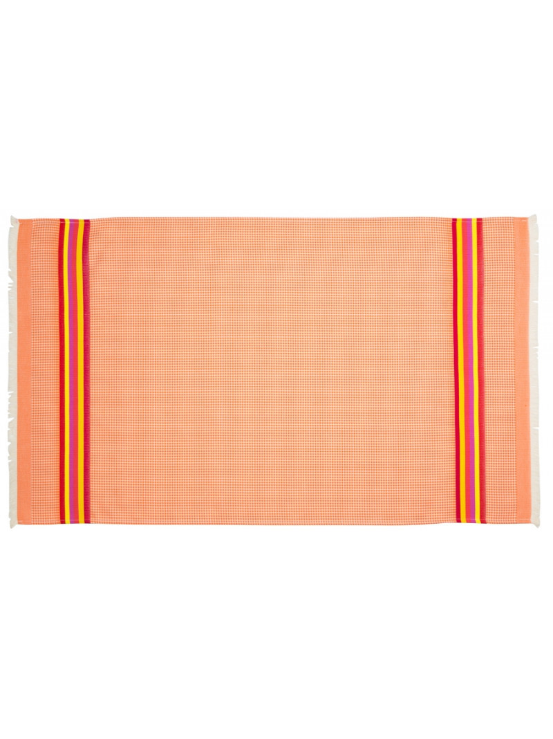 Honeycomb towel Mandarine bathroom basque linen