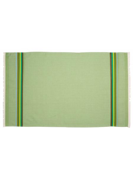 Honeycomb towel Olive bathroom basque linen