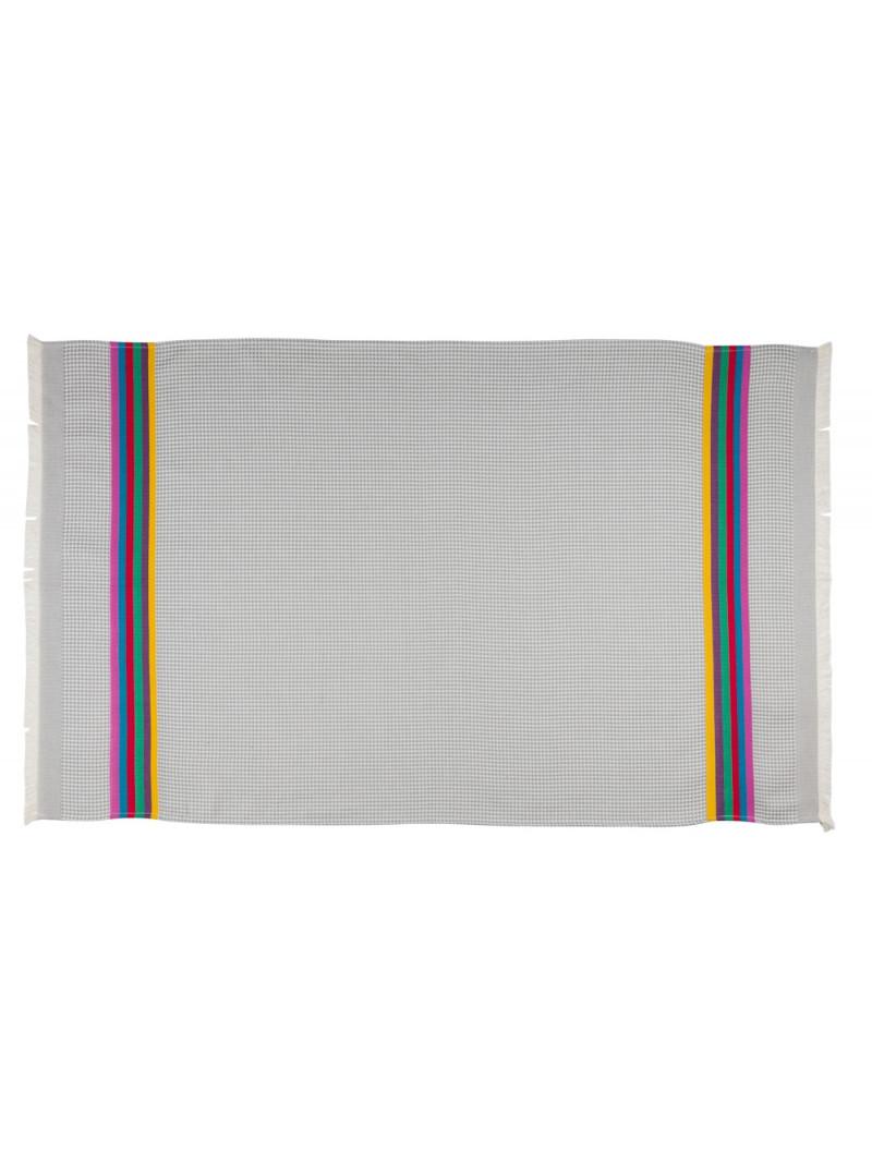 Honeycomb towel Gris/Toucan bathroom basque linen