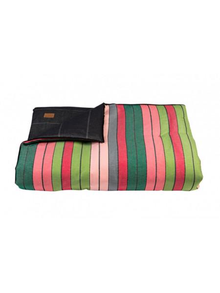 Quilts Eugénie Rose/Vert & Toile Encre