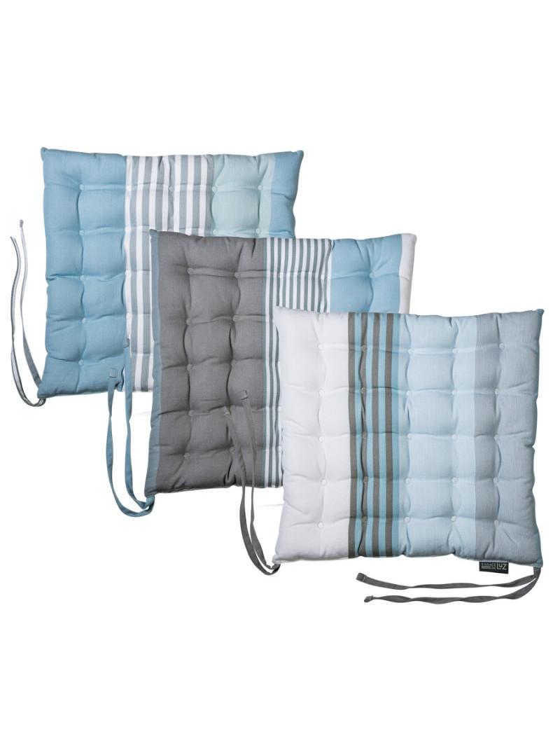 Seat cushion  Belle-île en Mer basque household linen