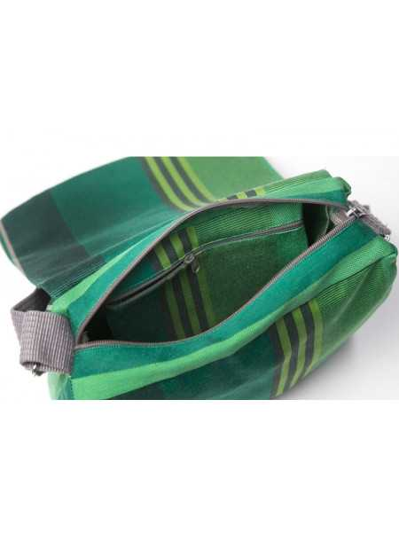 Besace Chiberta- shoulder bag, basque linen