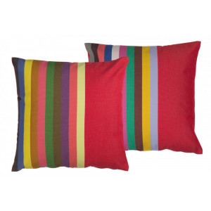 Cushion cover with zipper Marbella basque household linen