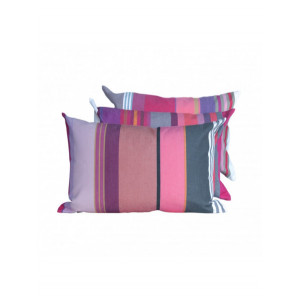 Cushion cover with zipper Pivoine basque household linen