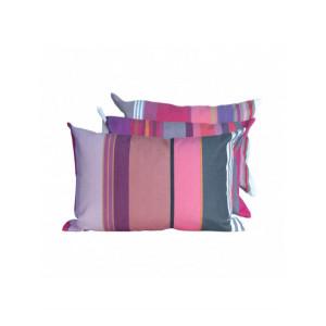 Cushion cover with zipper Pivoine basque household linen