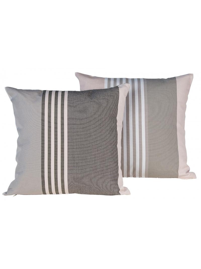 Cushion cover with zipper Ottoman Rhune basque household linen